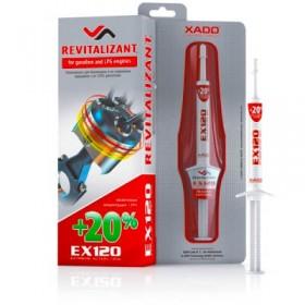 Ревитализант Xado EX120 для бензиновых двигателей 8 мл.