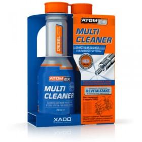 Multi Cleaner (Diesel) Xado - очиститель топливной системы для дизельного двигателя 250 мл.