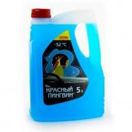 Жидкость для омывания стекол автомобиля Красный пингвин 5 л.