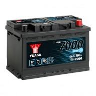 YUASA YBX7096 EFB Start Stop Plus Batteries 75 А/ч 700А