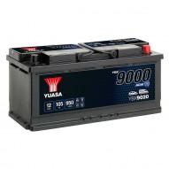 YUASA YBX9020 AGM Start Stop Plus Batteries 105 А/ч 950А