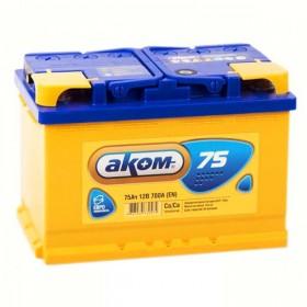 Аккумулятор АКОМ 75 А/ч