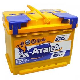 Аккумулятор АТАКА 60 А/ч