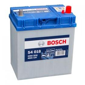 Аккумулятор BOSCH S4 018 40 А/ч Asia (о.п)