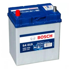 Аккумулятор BOSCH S4 019 40 А/ч Asia (п.п)