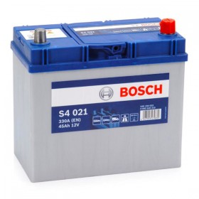 Аккумулятор BOSCH S4 021 45 А/ч Asia (п.п)