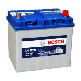 Аккумулятор BOSCH S4 024 60 А/ч Asia (о.п)