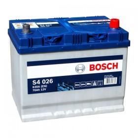 Аккумулятор BOSCH S4 026 70 А/ч Asia (о.п)