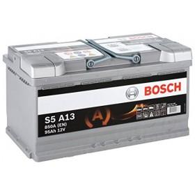 Аккумулятор BOSCH S5 A13 AGM 95 А/ч (о.п)