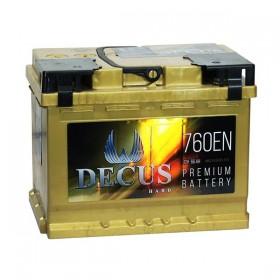 Аккумулятор DECUS HARD 66 А/ч