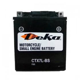 Аккумулятор Deka CTX7L-BS