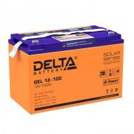 Delta GEL 12-100 (12V / 100 Ач)