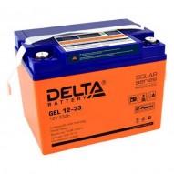 Delta GEL 12-33 (12V / 33 Ач)