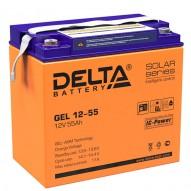 Delta GEL 12-55 (12V / 55 Ач)
