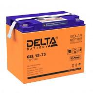 Delta GEL 12-75 (12V / 75 Ач)