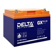 Delta 33 А/ч GX 1233