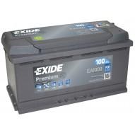 EXIDE 100 А/ч EA1000
