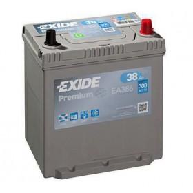 Аккумулятор EXIDE 38 А/ч Asia EA387 (п.п)