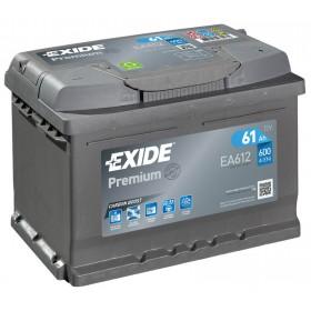 Аккумулятор EXIDE 61 А/ч EA612