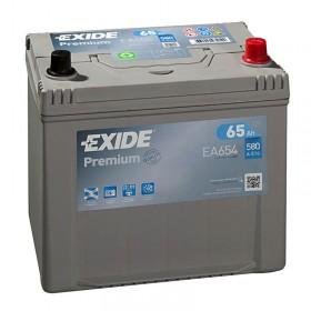 Аккумулятор EXIDE 65 А/ч Asia EA654 (о.п)
