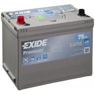 EXIDE 75 А/ч Asia EA755 (п.п)