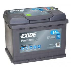 Аккумулятор EXIDE 64 А/ч EA641 (п.п)