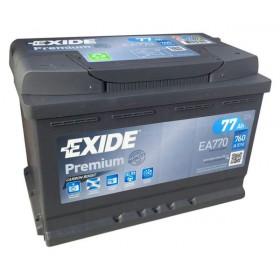 Аккумулятор EXIDE 77 А/ч EA770