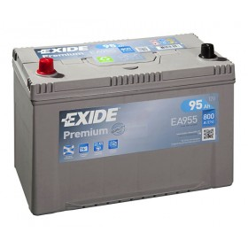 Аккумулятор EXIDE 95 А/ч Asia EA955 (п.п)