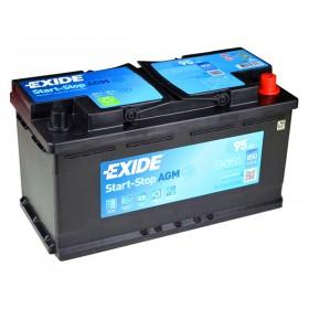 Аккумулятор EXIDE 95 А/ч Start-Stop AGM EK950