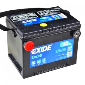 Аккумулятор EXIDE Excell EB608 60 А/ч