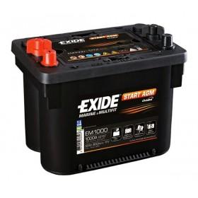 Аккумулятор EXIDE 50 А/ч EM1000 Start AGM