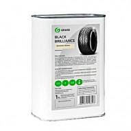 GRASS Полироль чернитель для шин и резины Black Brilliance 1 литр Арт. 125100