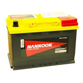Аккумулятор Hankook SA 57020 AGM 70 А/ч