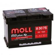 MOLL M3plus 75 А/ч
