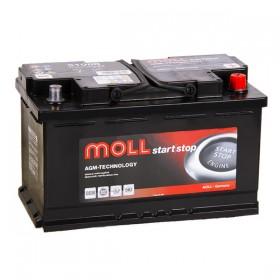 Аккумулятор MOLL Start-Stop AGM 70 А/ч