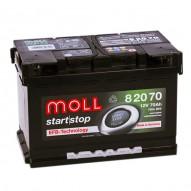 MOLL Start-Stop EFB 70 А/ч