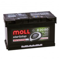 MOLL Start-Stop EFB 80 А/ч