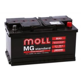 Аккумулятор MOLL 80 А/ч MG Standard