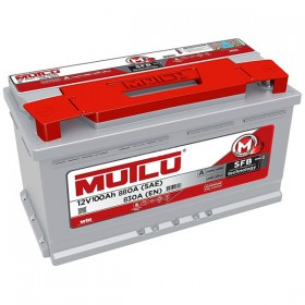 Аккумулятор MUTLU 100 А/ч SFB SERIES 2 L5.100.083.A