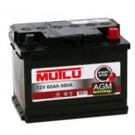 MUTLU 60 А/ч AMG