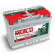 MUTLU AGM 70 А/ч AGM / L3.70.076.A