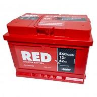 RED 62 А/ч (обратная)
