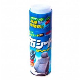 Пенный очиститель обивки (антибактериальный) Fabric Seat Cleaner Soft99, 420 мл