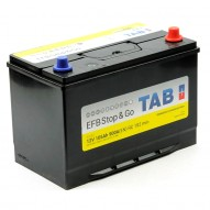 TAB EFB Stop&Go 105 А/ч (60518) (обратная)