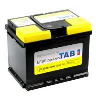 TAB EFB Stop & Go 60 А/ч (212060)