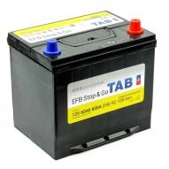 TAB EFB Stop&Go 60 А/ч (55D23L) яп. ст/бортик