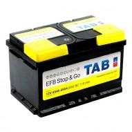 TAB EFB Stop & Go 65 А/ч (212065) низкий