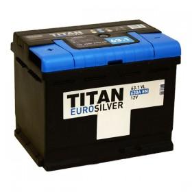 Аккумулятор TITAN EuroSilver 63 А/ч