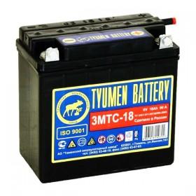 Аккумулятор Tyumen Battery 3МТС-18 Ач