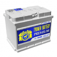 Tyumen Premium 64 А/ч (обратная)